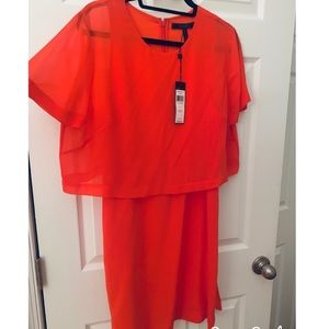 Brand new with tags BCBG red dress